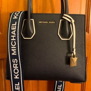 efc2e01a4bf2dc MICHAEL Michael Kors Bags - Michael Kors Mercer Leather Accordion Crossbody